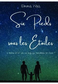 Six pieds sous les étoiles - Couverture de livre auto édité
