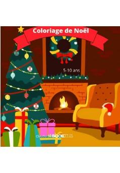 Coloriage de Noël - Couverture de livre auto édité