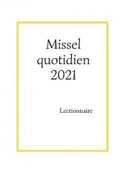 Missel quotidien 2021 - Couverture de livre auto édité