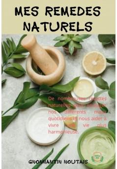 Mes remèdes naturels - Couverture Ebook auto édité