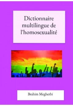 Dictionnaire multilingue de l'homosexualité - Couverture de livre auto édité