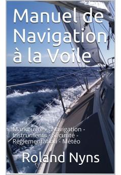 Manuel de Navigation à la Voile - Couverture Ebook auto édité