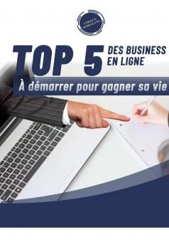 Top 5 des business en ligne 2 - Couverture Ebook auto édité