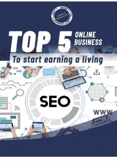 Top 5 online business 1 - Couverture Ebook auto édité