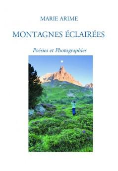 MONTAGNES ÉCLAIRÉES  - Couverture de livre auto édité