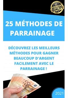 E-book parrainage - Couverture de livre auto édité