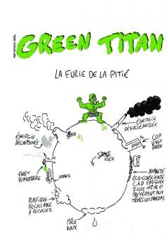 Green Titan - Couverture de livre auto édité