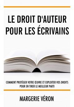 Le droit d'auteur pour les écrivains - Couverture Ebook auto édité