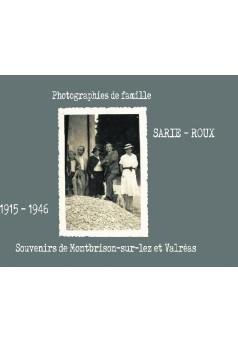 SARIE-ROUX - Couverture de livre auto édité