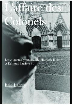 L'affaire des Colonels - Couverture de livre auto édité