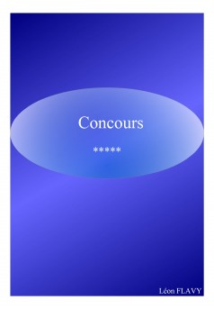 CONCOURS ENSEIGNEMENT*** - Couverture Ebook auto édité