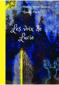 Les voix de Lucie - Couverture de livre auto édité