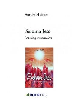 Saloma Jess - Couverture de livre auto édité