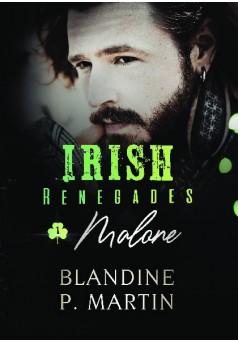Irish Renegades - 1. Malone - Couverture de livre auto édité