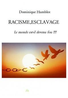 RACISME,ESCLAVAGE - Couverture de livre auto édité