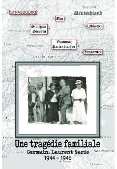 Tragédie familiale - Couverture de livre auto édité