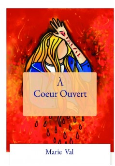 À Coeur Ouvert - Couverture de livre auto édité