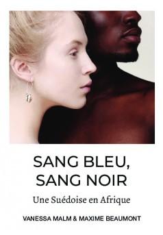 Sang bleu, sang noir - Couverture de livre auto édité