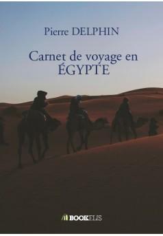 Carnet de voyage en ÉGYPTE - Couverture de livre auto édité