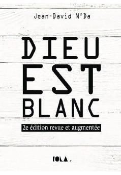 DIEU EST BLANC - Couverture de livre auto édité