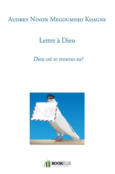 Lettre à Dieu - Couverture de livre auto édité