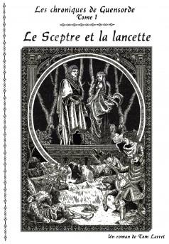 Le Sceptre et la Lancette - Couverture Ebook auto édité