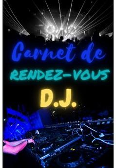 Carnet de rendez-vous DJ - Couverture de livre auto édité