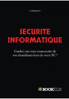 Sécurité informatique - Couverture de livre auto édité