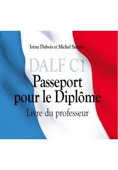 DALF C1 Passeport pour le Diplôme - Couverture Ebook auto édité