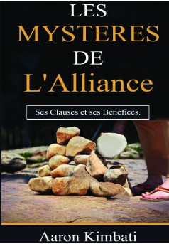 LES MYSTERES DE L'ALLIANCE - Couverture de livre auto édité