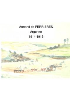Armand en Argonne - Couverture de livre auto édité