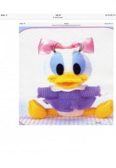Bébé DAISY en crochet - Couverture Ebook auto édité