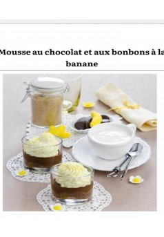 Les mousses en dessert - Couverture Ebook auto édité
