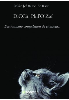 DiCCit  Phil'O'Zof - Couverture de livre auto édité