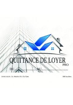 QUITTANCE DE LOYER CARNET DE QUITTANCE DE LOYER SOUCHE DÉTACHABLE - Couverture de livre auto édité