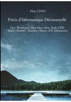 Précis d'Informatique Décisionnelle - Couverture de livre auto édité