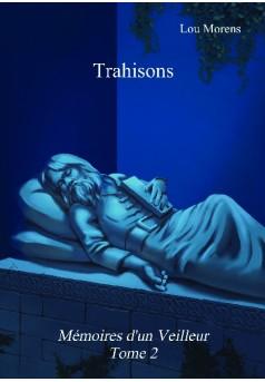 Trahisons - Couverture de livre auto édité