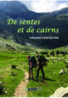 De sentes et de cairns - Couverture de livre auto édité