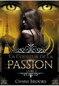 La Couleur de la Passion - Couverture de livre auto édité