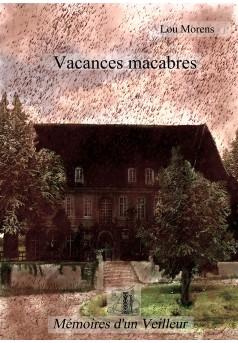 Vacances macabres - Couverture Ebook auto édité
