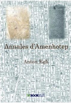 Annales d'Amenhotep - Couverture de livre auto édité