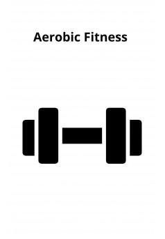 Aerobic Fitness - Couverture Ebook auto édité