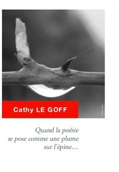 Quand la poésie se pose comme une plume sur l'épine - Couverture de livre auto édité
