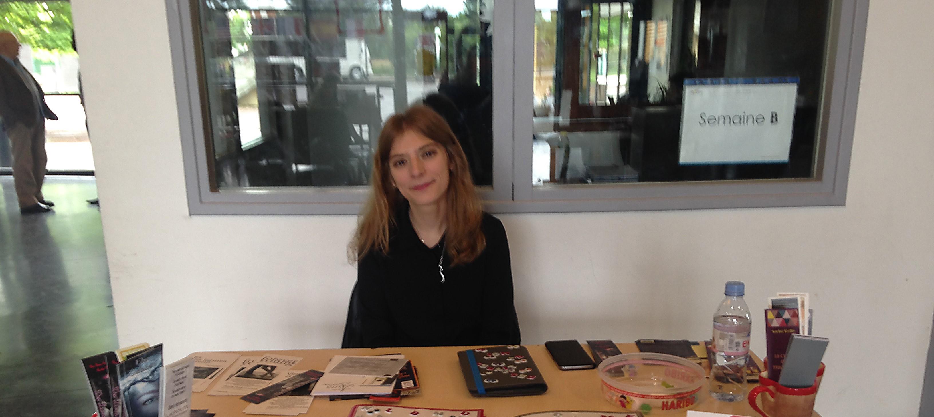 Aurélie P., blogueuse littéraire