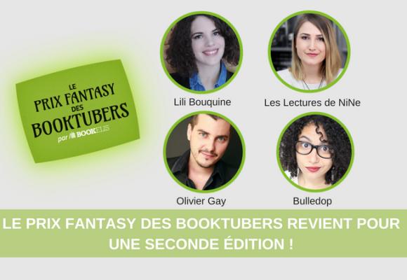 Le Prix Fantasy des BookTubers revient pour sa 2ème édition !