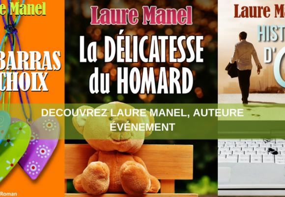 Découvrez Laure Manel, auteure événement