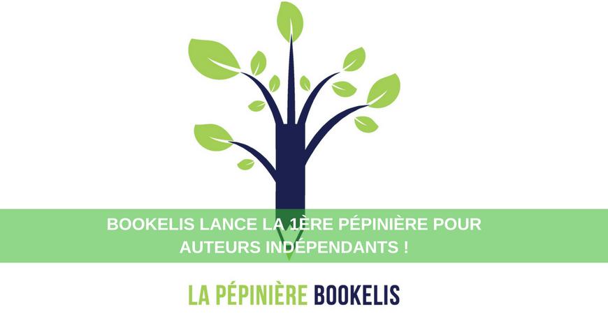 Bookelis lance la 1ère pépinière pour auteurs indépendants !
