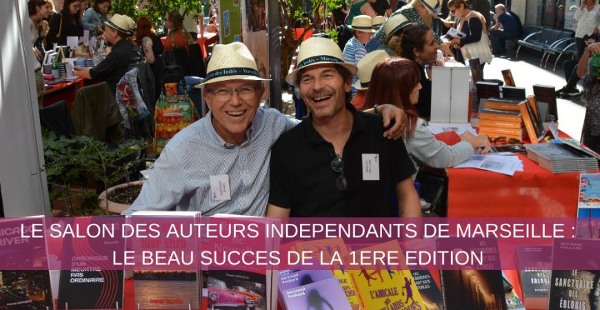 Le salon des auteurs indépendants de Marseille