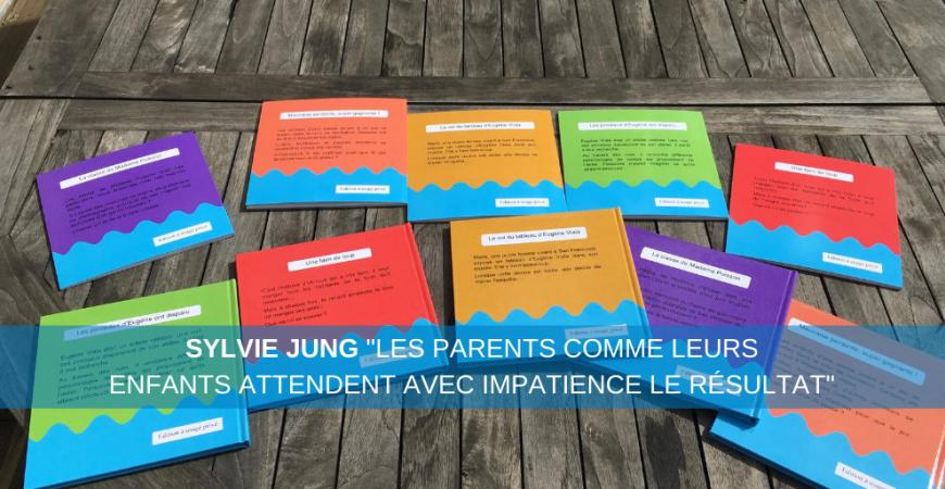 Sylvie Jung a continué son projet de livres dans les écoles