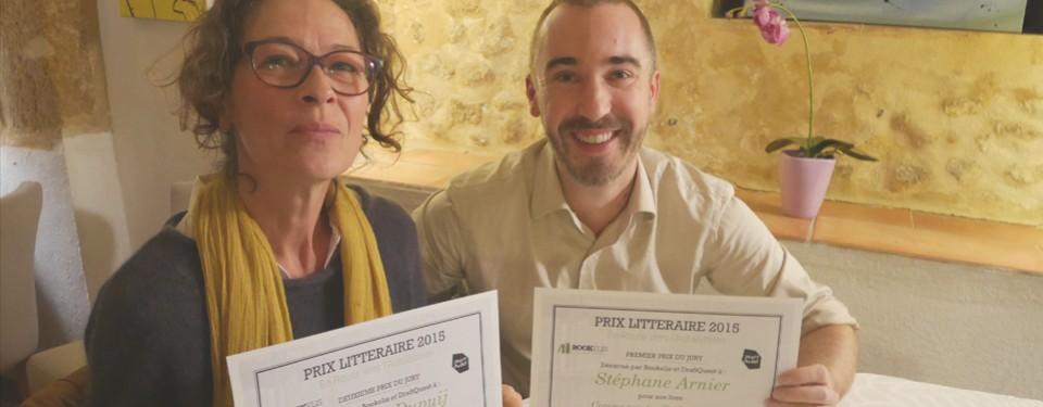 Concours En Route Vers l'Autoédition : la remise de Prix